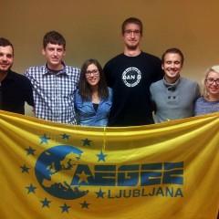 Nov upravni odbor AEGEE-Ljubljana