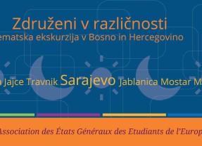 Tematska ekskurzija v Bosno in Hercegovino – Združeni v različnosti